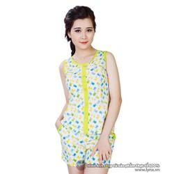Bộ đồ mặc nhà họa tiết trẻ trung XA611494