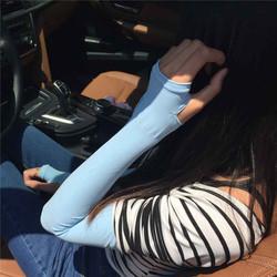 Găng tay chống nắng Aquax Let s Slim loại xỏ ngón