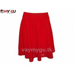 Chân váy xòe dịu dàng MY GU V01 - Màu đỏ