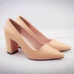 Giày cao gót nữ da cực đẹp