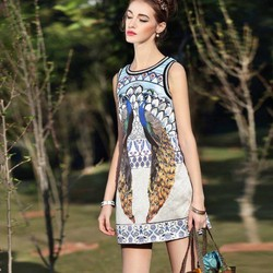 Đầm Suông Thời Trang CAO CẤP A60009