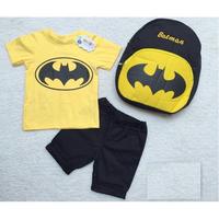 Bộ thun Batman kèm ba lô dễ thương cho bé NX417V