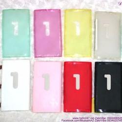 Ốp Nokia Lumia 920 nhựa mềm bền đẹp OLN34