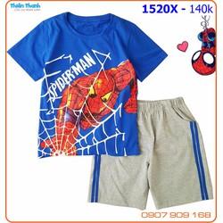 Bộ bé trai SIZE ĐẠI siêu nhân nhện cực ngầu các chàng trai