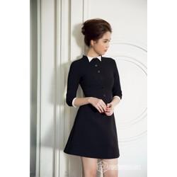 Đầm công sở cao cấp thiết kế tay lỡ trẻ trung như Ngọc Trinh MD06