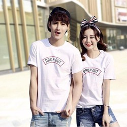 Áo thun đôi Hàn Quốc, cá tính độc đáo