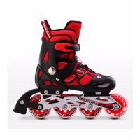 Giày patin cougar cá tính Mã: PA0006 - ĐEN ĐỎ