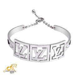 Vòng tay inox nữ chữ VL - Trang sức inox đẹp giá rẻ
