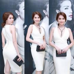 Đầm ôm body của Ngọc Trinh thiết kế tôn dáng, tuyệt đẹp M08T