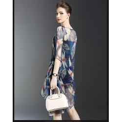 Đầm thời trang họa tiết chuồn chuồn - DV2570