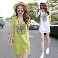 Váy chữ A nữ chất thô,phong cách Hàn Quốc, kiểu dáng rộng rãi