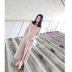 Hàng nhập_Set áo và quần harem nữ thời trang xếp ly cách điệu - B03