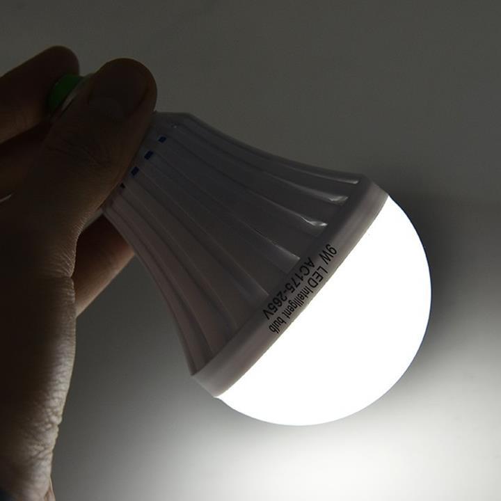 Bóng đèn LED Bulb 9W thắp sáng không cần điện 7