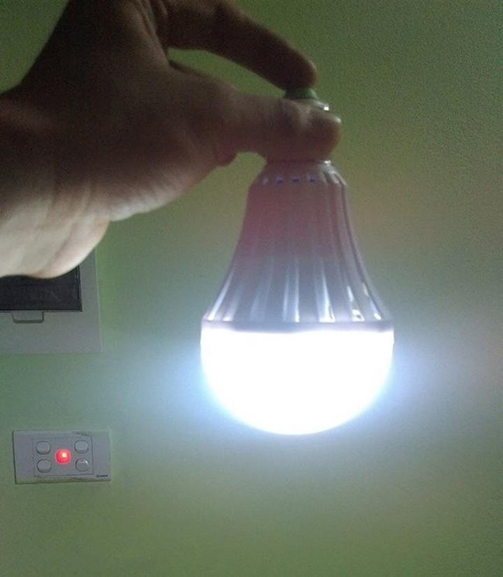 Bóng đèn LED Bulb 9W thắp sáng không cần điện 6
