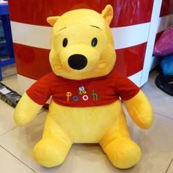 Gấu pooh nhồi bông cỡ lớn 60cm