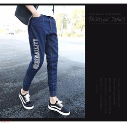 Quần jeans nam phong cách thời trang