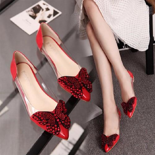Giày bệt nữ thiết kế nơ bướm sinh động - G027 - 3937817 , 3190968 , 15_3190968 , 299000 , Giay-bet-nu-thiet-ke-no-buom-sinh-dong-G027-15_3190968 , sendo.vn , Giày bệt nữ thiết kế nơ bướm sinh động - G027