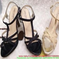 Giày cao gót thiết kế sang trọng quai hậu thời trang GC125
