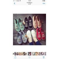 HÀNG NHẬP LOẠI 1: giày bata nữ sắc màu