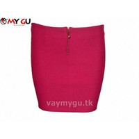 Chân váy bút chì MY GU V25 - Màu hồng