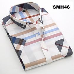 Áo sơ mi nam ngắn tay SMH46