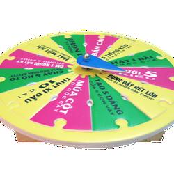 Vòng quay trò chơi giá CỰC RẺ dành cho tuổi TEEN trong dịp hè này