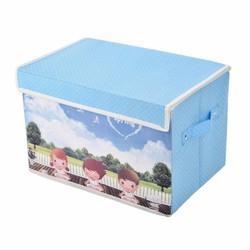 Tủ vải cao cấp có nắp khung cứng chống thấm Vina - Baby
