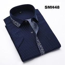 Áo sơ mi nam ngắn tay SMH48