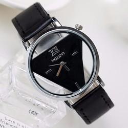 Đồng hồ đeo tay thời trang thiết kế mặt tam giác cá tính độc đáo