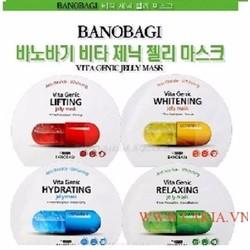 Mặt nạ dạng gel BANOBAGI Vita Genic WHITENING Jelly Mask