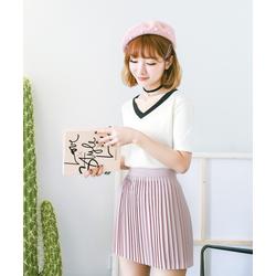 HÀNG VNXK CAO CẤP - Chân váy xếp li thời trang