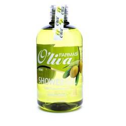 Gel tắm dưỡng trắng da chiết xuất Olive Farmasi - 375ml