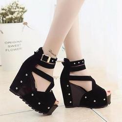 SD290 - Giày Sandal Nữ Chiến Binh cá tính