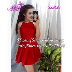 Đầm xòe mẫu mới xinh xắn - SSH59