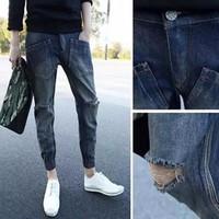 Quần jeans nam hàn quốc túi ngược độc lạ