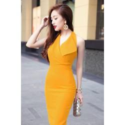 Đầm đẹp công sở thiết kế giả vest sang trọng, đơn giản M00040