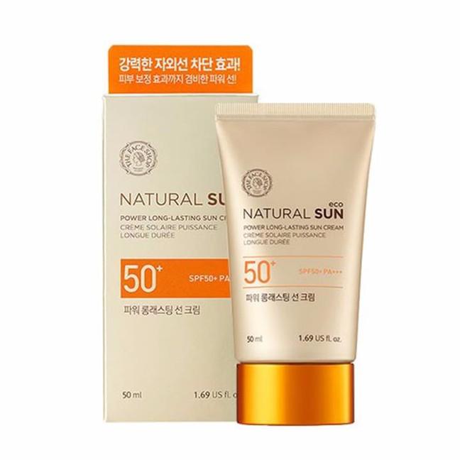 Kem chống nắng TFS Natural Sun Eco Power Long-Lasting Sun Cream 2