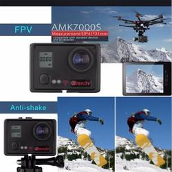 Camera Thể Thao Hành Trình Du Lịch AMKOV AMK7000S màu đen