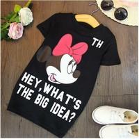 Đầm Mickey size đại cho bé gái