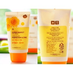 Kem chống nắng Natural Sun Eco Super Perfect Sun Cream SPF50