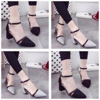 HÀNG LOẠI I - giày sandal cao gót xinh xắn