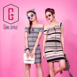 GIRL STYLE - ĐẦM BẸT VAI ĐAN DÂY
