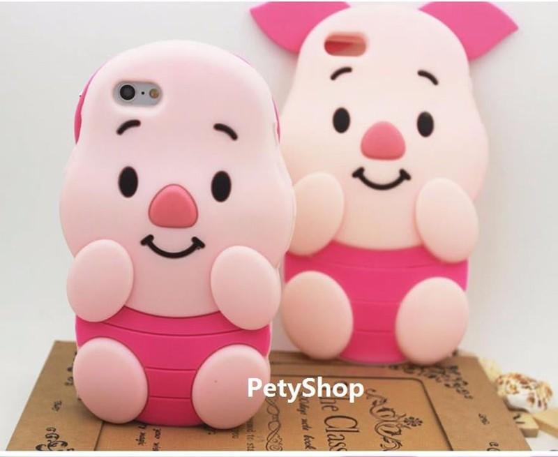 Ốp heo hồng iPhone 5 6 6 Plus Grand Prime J5 J7 J1 2016 A510 2