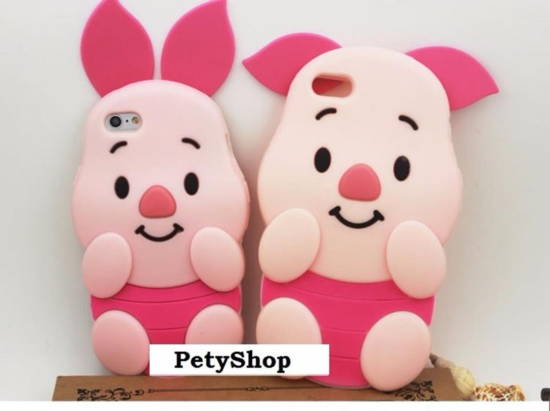 Ốp heo hồng iPhone 5 6 6 Plus Grand Prime J5 J7 J1 2016 A510 6