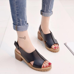 Giày Sandal nữ cá tính kiểu dáng thời trang Hàn Quốc - SG0279