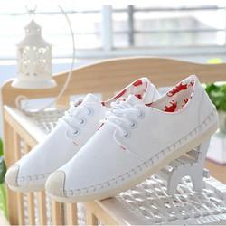 Giày nữ kiểu dáng thời trang phong cách dễ thương Hàn Quốc - XS0284