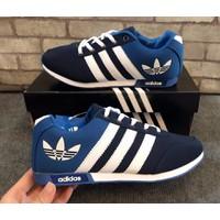 Giày Adidas Lá - Xanh Đen