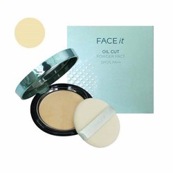 Phấn phủ kiềm dầu Face it Oil cut powder pact SPF25 PA++