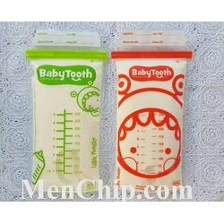40 Túi trữ sữa BABY TOOTH - Thái Lan