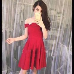 Đầm rủ trễ vai  thời trang